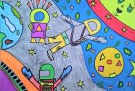 Vesmír očami detí 2021 - virtuálna prehliadka