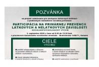 Participácia na primárnej prevencii látkových a nelátkových závislostí - seminár
