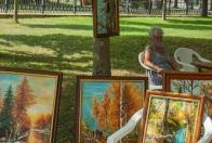 Stretnutie vo farbách – vzdelávanie a umelecká tvorivá činnosť seniorov