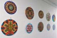 Mandaly - výstava diel Adriany Decsiovej