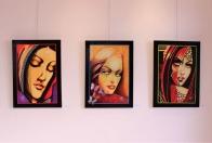 Obrazy Juraja Turyho na výstave v Galante